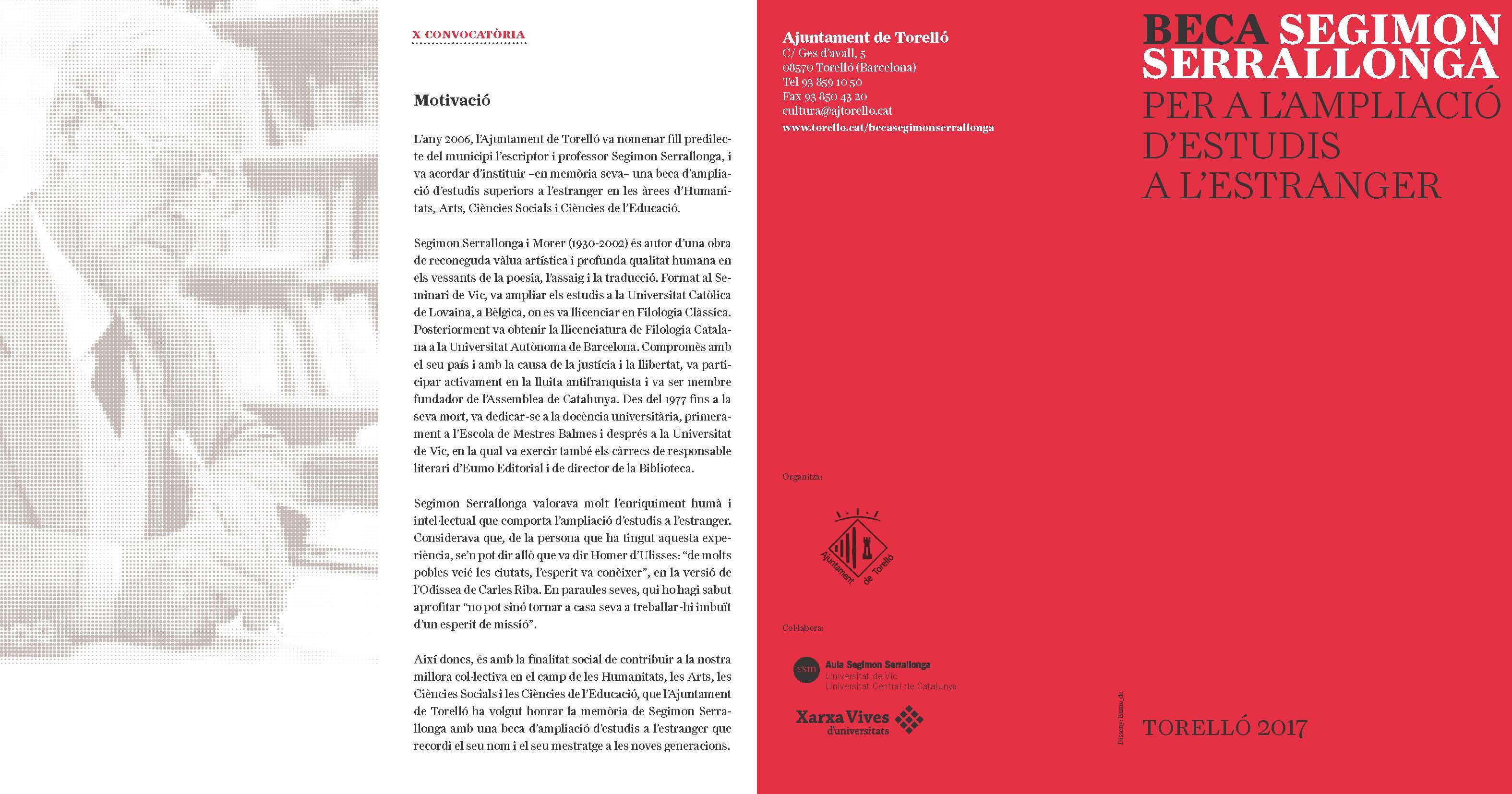 Facultad de bellas artes convocat ria beca segimon - Beca comedor valencia 2017 18 ...