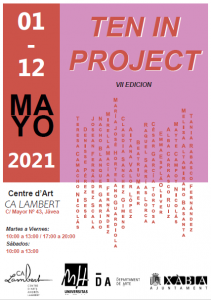 Cartel de la muestra Ten in Project